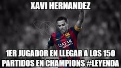 Enlace a Vaya leyenda es Xavi Hernández