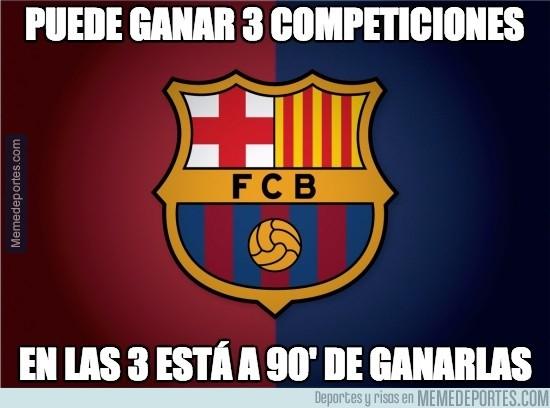 545540 - El Barça tiene el triplete más cerca que nunca