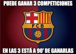 Enlace a El Barça tiene el triplete más cerca que nunca
