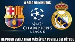 Enlace a Si el Madrid pasa a la final, tendremos un partido de infarto