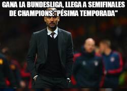 Enlace a Doble rasero al ver la temporada de Mourinho y Guardiola