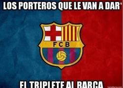 Enlace a Los porteros que le pueden dar el triplete al Barcelona