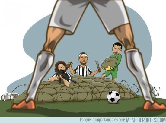 546128 - El Madrid lo tendrá difícil con la Juve atrincherada