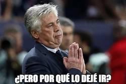 Enlace a Ancelotti desesperado con Morata