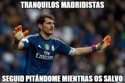 Enlace a Casillas salvando al Real Madrid