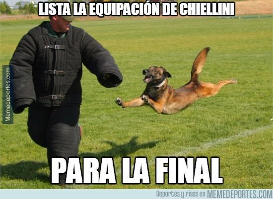 547682 - Lista la Equipación de Chiellini para la final