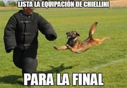 Enlace a Lista la Equipación de Chiellini para la final