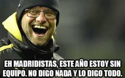 Enlace a ¿Klopp al Madrid?