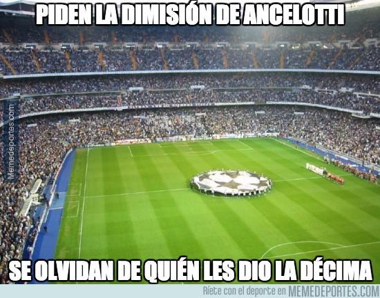 549183 - Piden la dimisión de Ancelotti