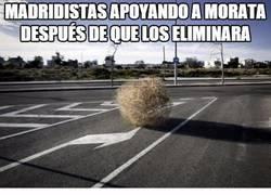 Enlace a Madridistas apoyando a Morata después de que los eliminara