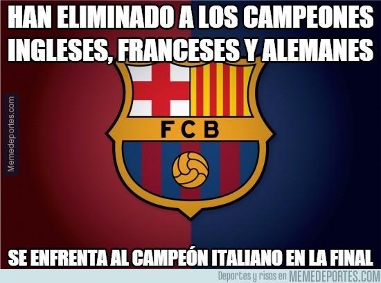 549297 - El Barça ha tenido un duro camino hasta la final