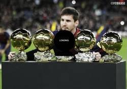 Enlace a Messi ya está cargando su proximo balón de oro