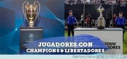 Enlace a Conoce a los 7 jugadores que han ganado la Champions y Libertadores