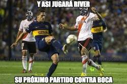 Enlace a Y asi jugará River su próximo partido contra Boca