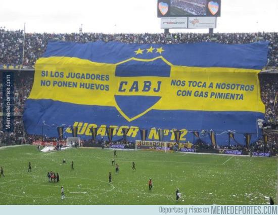 550620 - Estos son los fans de Boca Juniors