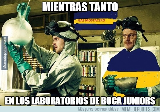 551520 - Mientras tanto, en los laboratorios de Boca Juniors