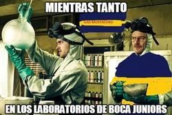 Enlace a Mientras tanto, en los laboratorios de Boca Juniors