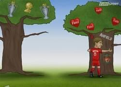 Enlace a Gerrard y su amor por el liverpool
