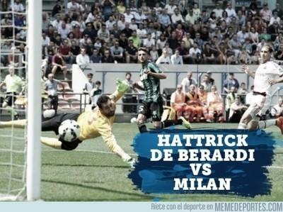 552677 - El hattrick de Berardi contra el Milan
