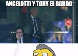 Enlace a Ancelotti y Tony El Gordo