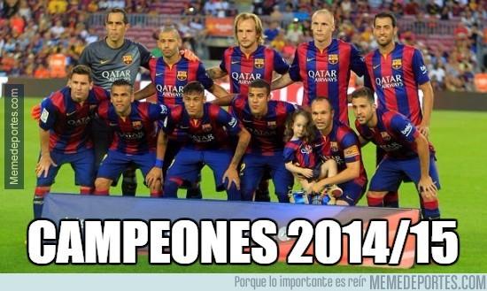 553620 - ¡Felicidades al Barça! ¡Campeones de Liga!