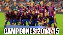 Enlace a ¡Felicidades al Barça! ¡Campeones de Liga!