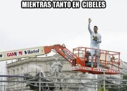 Enlace a Mientras tanto, en Cibeles...