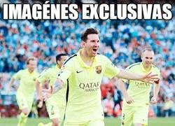 Enlace a Imagénes exclusivas de Messi llorando por el pichichi