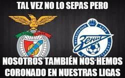 Enlace a ¡Felicidades al Benfica y Zenit!