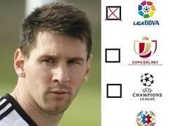 Enlace a Messi tacha su primer objetivo del año