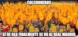 Enlace a Colchoneros si De Gea se va al Madrid, ¡traición!