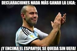 Enlace a Mascherano enciende al vestuario del Espanyol con esta frase