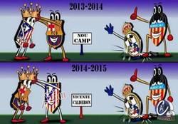 Enlace a Resumen de las dos últimas temporadas de la Liga BBVA