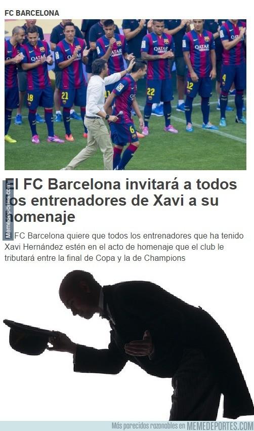 556743 - El FC Barcelona invitará a todos los entrenadores de Xavi a su homenaje