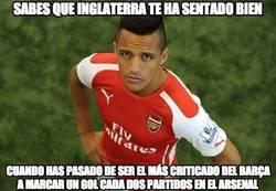 Enlace a Un Alexis Sánchez espectacular en el Arsenal