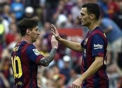 Enlace a Messi aún no se lo cree