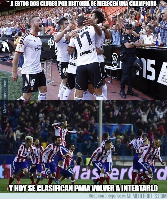 559441 - ¡Felicidades al Valencia y Atleti!