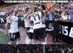 Enlace a ¡Felicidades al Valencia y Atleti!