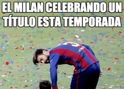 Enlace a El Milan celebrando un título esta temporada