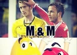 Enlace a Los M&M del Fútbol
