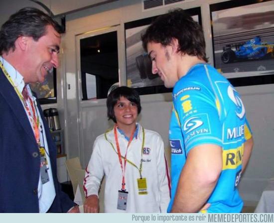 560422 - Cómo cambian las cosas, Carlos Sainz Jr con Fernando Alonso