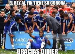 Enlace a Gran gesto de Mourinho que le puso la corona de la Premier a Drogba