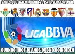 Enlace a Sabes que la temporada 2015/16 será especial...