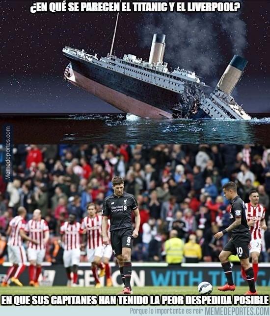 561752 - El Titanic y el Liverpool, parecidos razonables