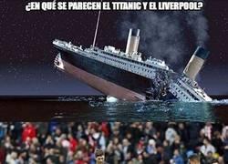 Enlace a El Titanic y el Liverpool, parecidos razonables