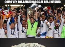Enlace a Real Madrid, distintos puntos de vista