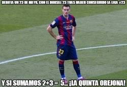 Enlace a La profecía de Vermaelen dice que la Champions la gana el Barça