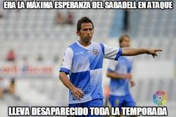 Enlace a Era la máxima esperanza del Sabadell en ataque