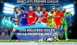 Enlace a BRUTAL: Los mejores goles de la Premier 2014-15
