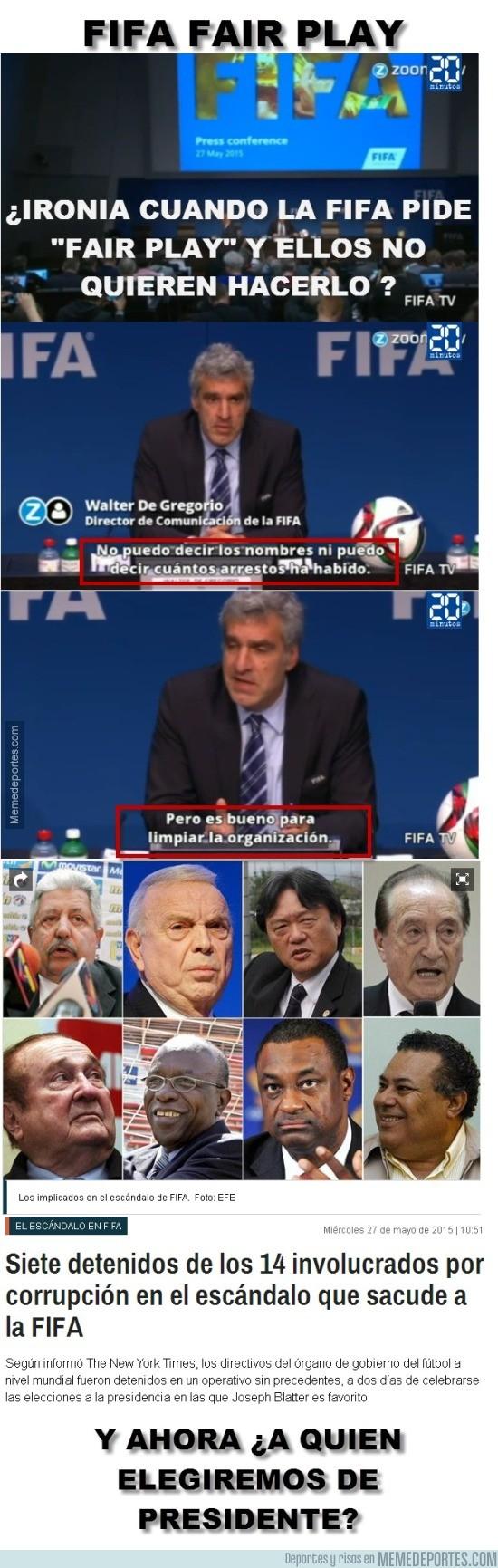 563697 - La FIFA exige pero no da Fair Play